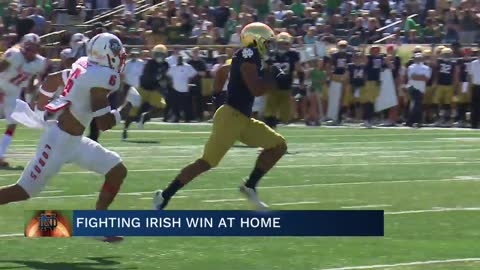 Irish win in dominant fashion, will face Georgia next