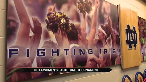 ND women's hoops dominates NCAA Tournament opener