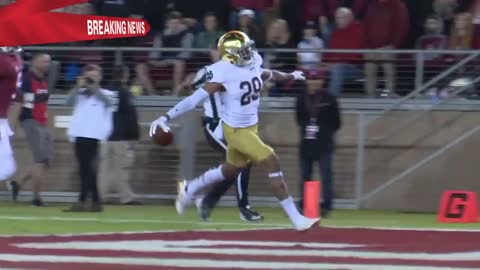 Suspended Irish receiver Kevin Stepherson charged with marijuana possession