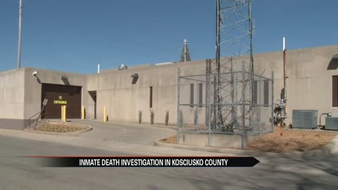 Indiana State Police conducting death investigation at the Kosciusko County Jail