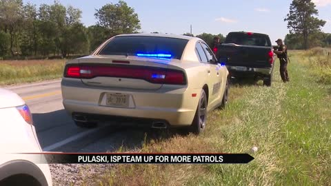 Pulaski County teaming up with ISP to boost patrols