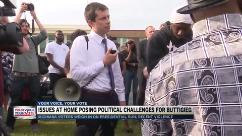 Issues in South Bend posing political challenges for Buttigieg...