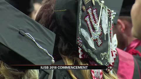 More than 1,000 degrees awarded at IUSB Spring commencement