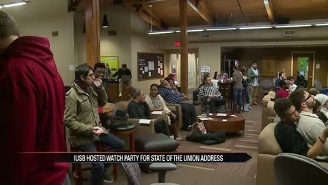 "IUSB hosts ""State of the Union"" watch party for students"