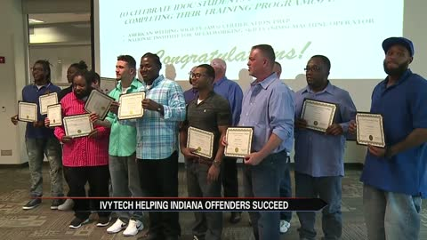 Ivy Tech program gives offenders tools to succeed