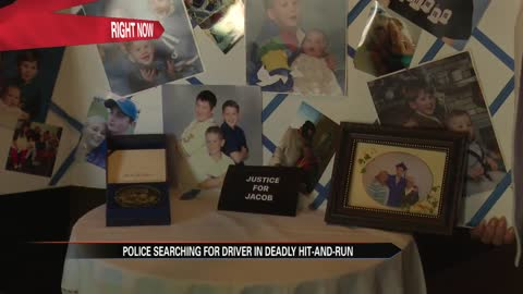 Grieving family in search for son's killer