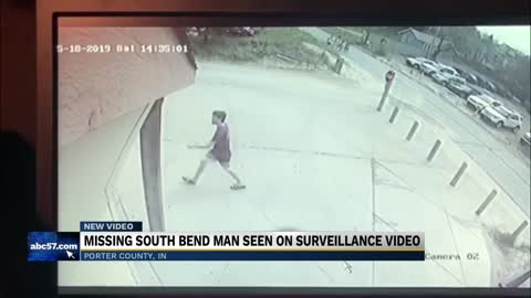 Search for Jacob Sandy continues, missing man spotted on surveillance...