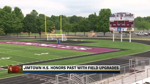 Jimtown football honors past with field upgrades