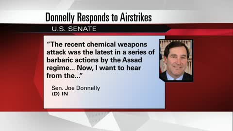 Local politicians react to the US airstrikes on Syria