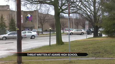 John Adams High School receives threatening message