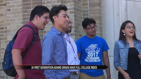 John Adams High School sees increase in graduating first generation students