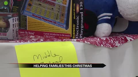 Local church helps parents shop for Christmas