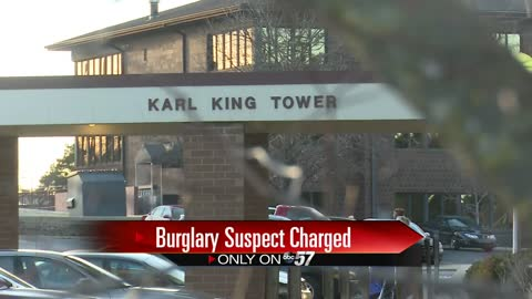 Police release suspect name in Karl King Tower burglary