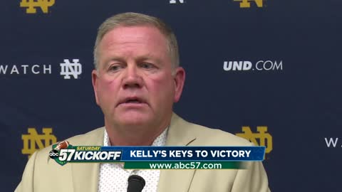 Kelly's keys to victory: Notre Dame vs. Wake Forest