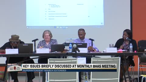 Key issues briefly discussed at monthly Benton Harbor Area Schools meeting
