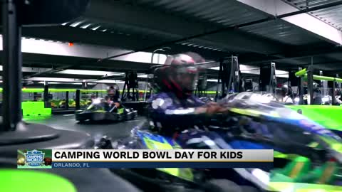 Kids day at Camping World Bowl