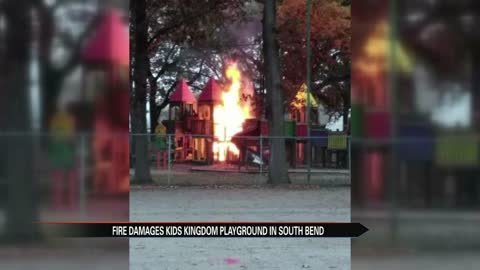 Kids' Kingdom closed after fire