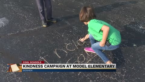 Kindness campaign underway at Model Elementary