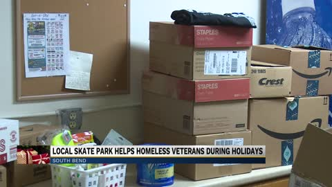 Kitchen Skatepark holds gift drive for homeless veterans