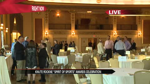 Knute Rockne Award celebration honors coaches Friday evening