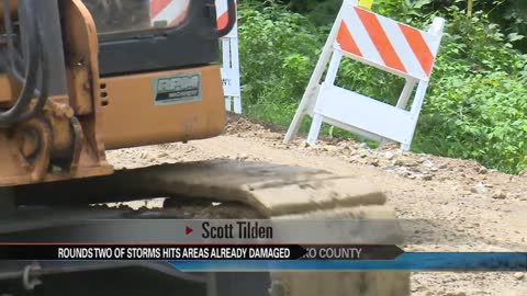 Kosciusko County continues cleanup after storms,preparing for next round