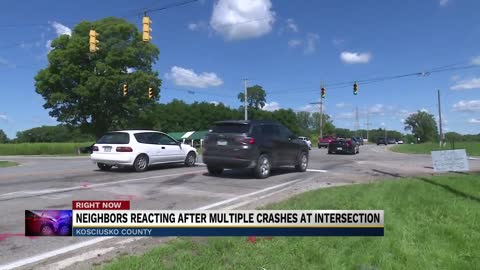 Kosciusko County intersection dangerous, locals respond