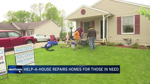 Lacasa hosts 29th Annual Help-A-Home Work Day in Goshen