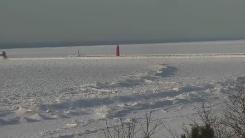 What does Lake Michigan ice mean for Michiana?