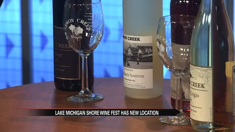 Lake Michigan Shore Wine Fest is on the move