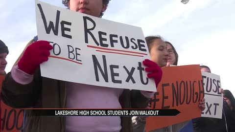 Lakeshore students join National School Walkout
