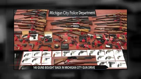 Authorities collect over 100 guns at two-day gun drive