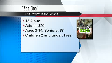 "Last chance to experience 2017 ""Zoo Boo"" at Potawatomi Zoo"
