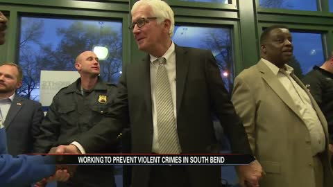 Leaders look to curb crime in South Bend