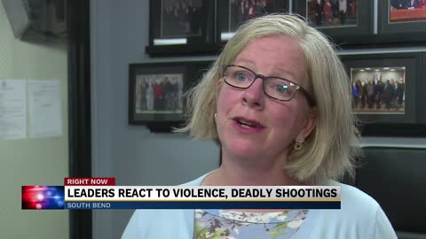 Local leaders respond to shooting violence in South Bend