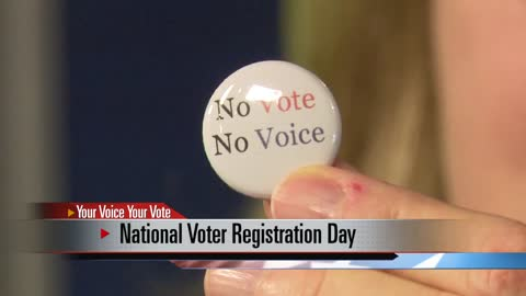 Local groups host voter registration events