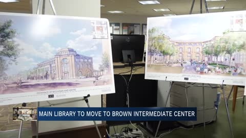 Library, school district share information on temporary move...