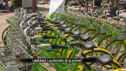 LimeBike launching in Elkhart