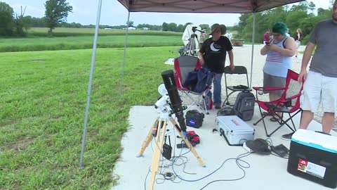 Live in Carbondale: Scientists collect data during solar eclipse