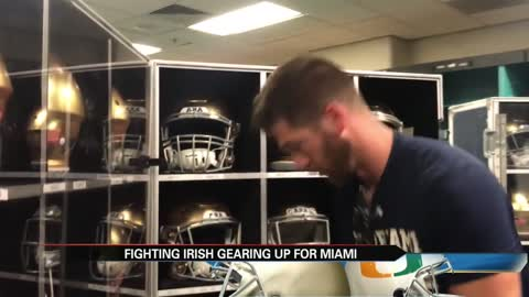Live in Miami: 'Gearing up' for the Notre Dame-Miami game