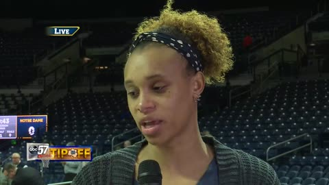 Live with Brianna Turner: Notre Dame vs. NC State