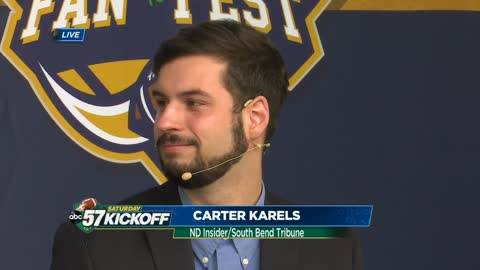Live with Carter Karels: Notre Dame vs. Ball State
