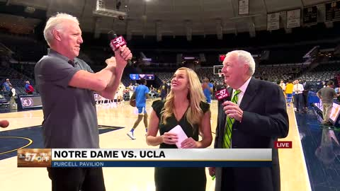 Live with Digger Phelps and Bill Walton