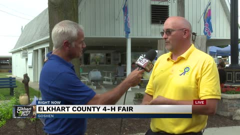 Elkhart Fair President Josh Culp discusses this year's $5 First Friday specials