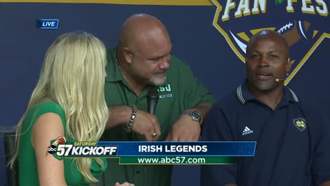 Live with Irish legends Mark Green and Chris Zorich