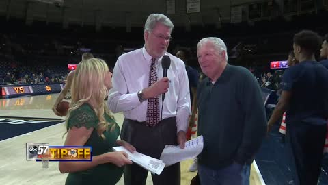 Live with Mike Gminkski and Digger Phelps: Notre Dame vs Syracuse