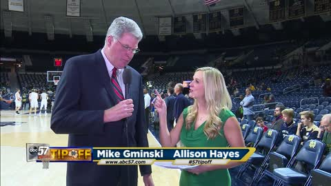 Live with Mike Gminski: Notre Dame vs Boston College