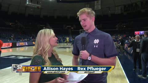 Live with Rex Pflueger: Notre Dame vs Syracuse