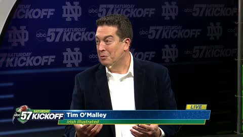 Live with Tim O'Malley: Notre Dame vs Boston College