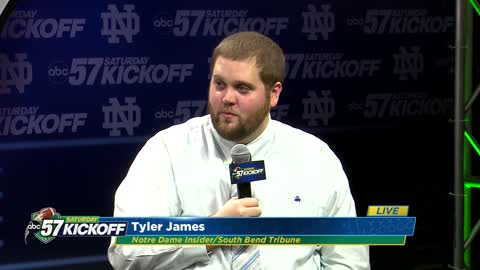 Live with Tyler James: Notre Dame vs Boston College