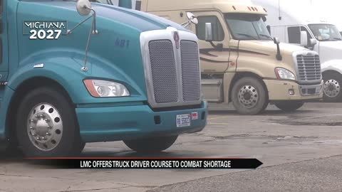 Lake Michigan College to offer truck driver course to help combat...
